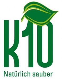 K10 Logo mit Rand